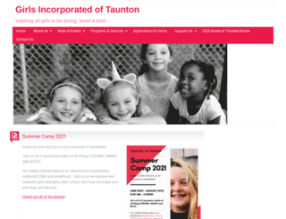girlsinctaunton.org screenshot