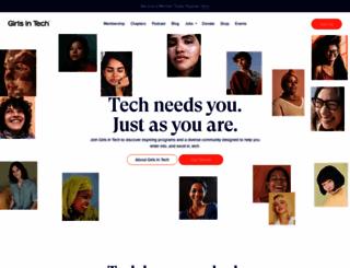 girlsintech.org screenshot