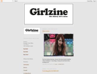 girlzine-e.blogspot.com screenshot