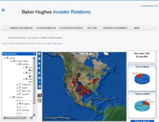 gis.bakerhughesdirect.com screenshot