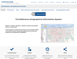 gis.geoconcept.com screenshot