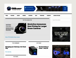 gisuser.com screenshot
