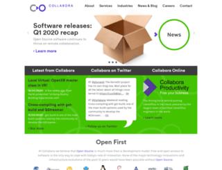 git.collabora.com screenshot