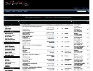 gitardersivideo.com screenshot