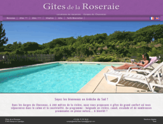 gites-la-roseraie.com screenshot
