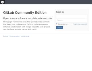 gitlab.esystema.net screenshot