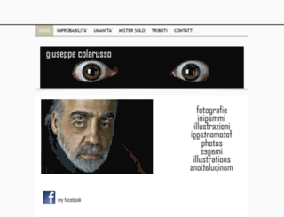 giuseppecolarusso.it screenshot