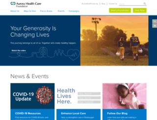 give.aurora.org screenshot