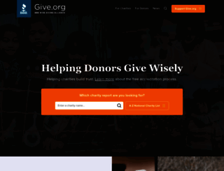 give.org screenshot