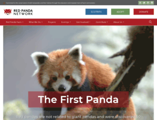 give.redpandanetwork.org screenshot