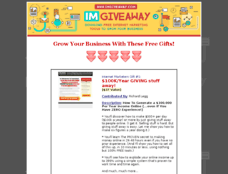 giveaway2010.com screenshot