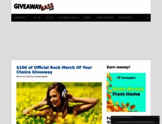 giveawaybase.com screenshot