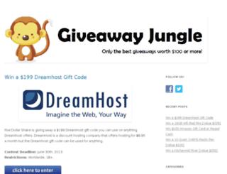 giveawayjungle.com screenshot