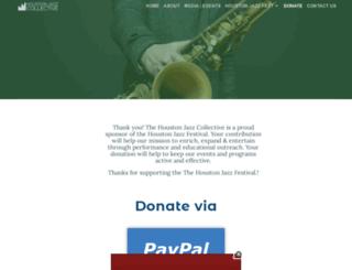 givejazz.com screenshot