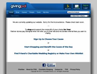 givingpal.com screenshot