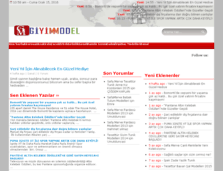 giyimmodel.com screenshot