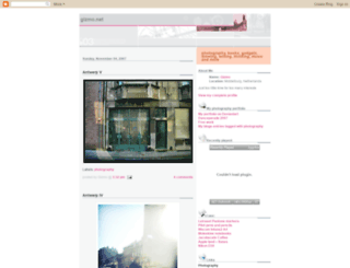 gizmonet.blogspot.nl screenshot