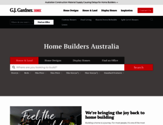 gjgardner.com.au screenshot