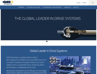 gkndriveline.com screenshot