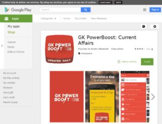 gkpowerboost.goodbarber.com screenshot