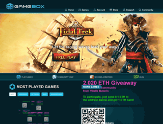 gla.gamebox.com screenshot