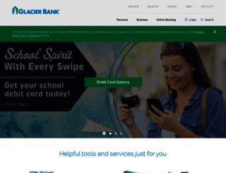 glacierbank.com screenshot