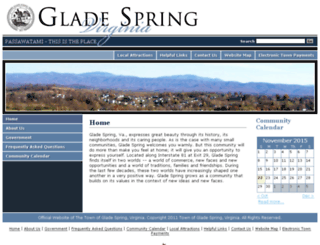 gladespringva.govoffice3.com screenshot