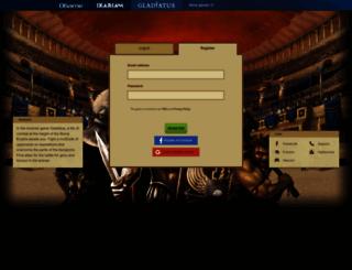 gladiatus.us screenshot