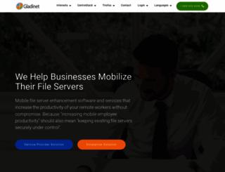 gladinet.com screenshot