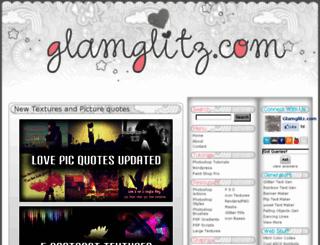 glamglitz.com screenshot