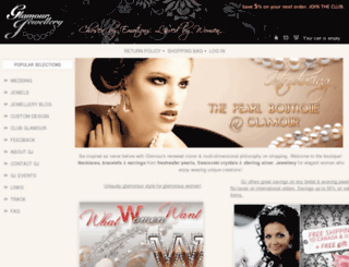 glamourjewellery.com screenshot