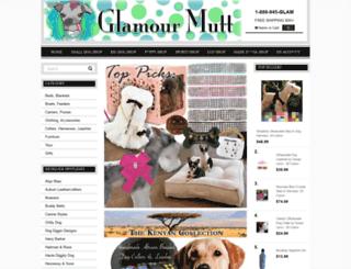 glamourmutt.com screenshot