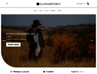 glamourstore.it screenshot