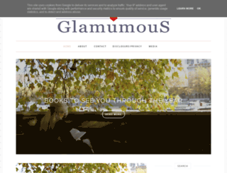 glamumous.co.uk screenshot
