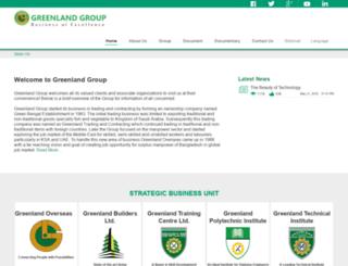 glandgroup.com screenshot