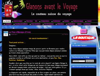 glanonsavantlevoyage.com screenshot