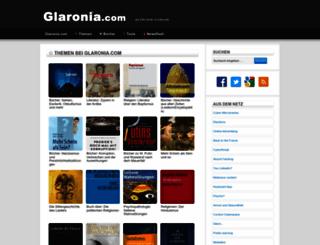 glaronia.com screenshot