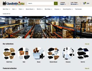 glassbottleoutlet.com screenshot