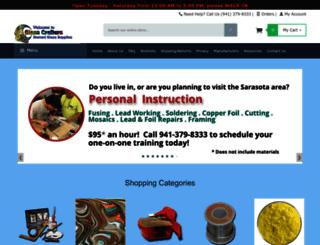 glasscrafters.biz screenshot