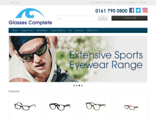 glassescomplete.com screenshot