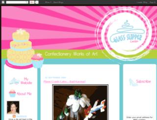 glassslippercakery.blogspot.com screenshot