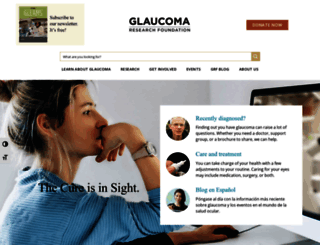 glaucoma.org screenshot