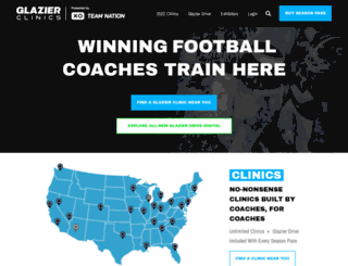 glazierclinics.com screenshot
