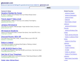 gleanerjm.com screenshot