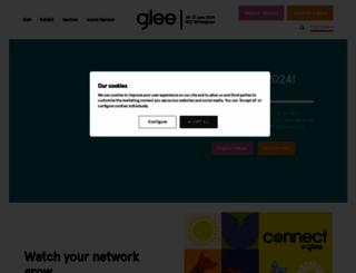 gleebirmingham.com screenshot