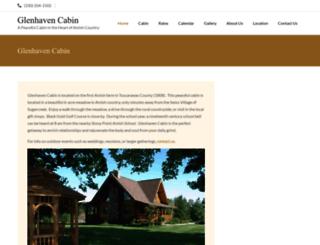 glenhavencabin.com screenshot