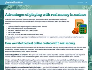 gleniswillmott.eu screenshot