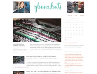 glennaknits.com screenshot