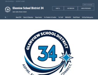 glenview34.org screenshot