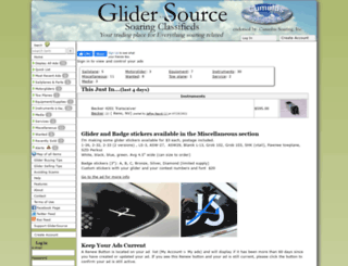 glidersource.com screenshot